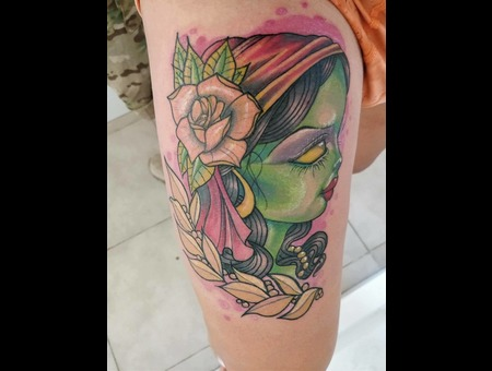 Gypsy  Color Thigh