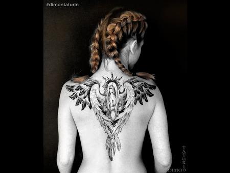 Dimon Taturin Black Grey Back