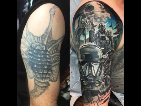 Coverup  Coverup Of A Coverup  Star Wars  Color Arm