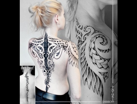 Cover Up By Dimon Taturin Black Grey Back