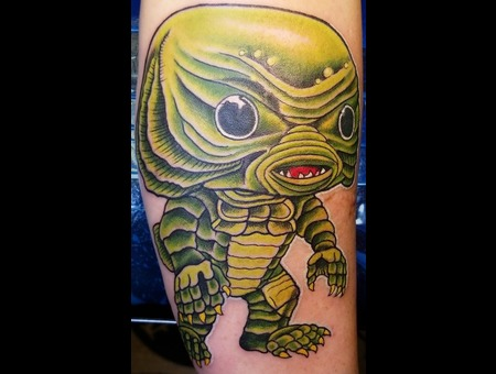 Creature  Creature From The Black Lagoon  Pop Funko Funko Pop Color Forearm