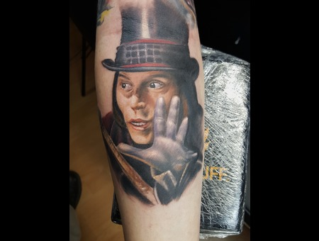 #Realistic #Portrait #Portraittattoo Color Arm