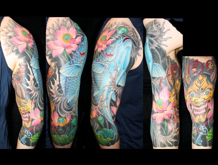 Koi  Sleeve  Hanya  Lotus Color