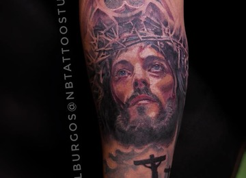 Jesus, Jesus of Nazareth, Religious Tattoo
