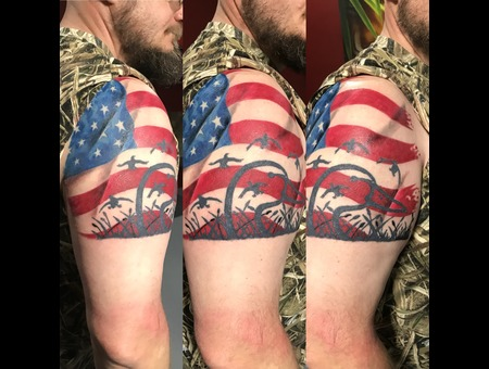 Realism  Flag Color Arm