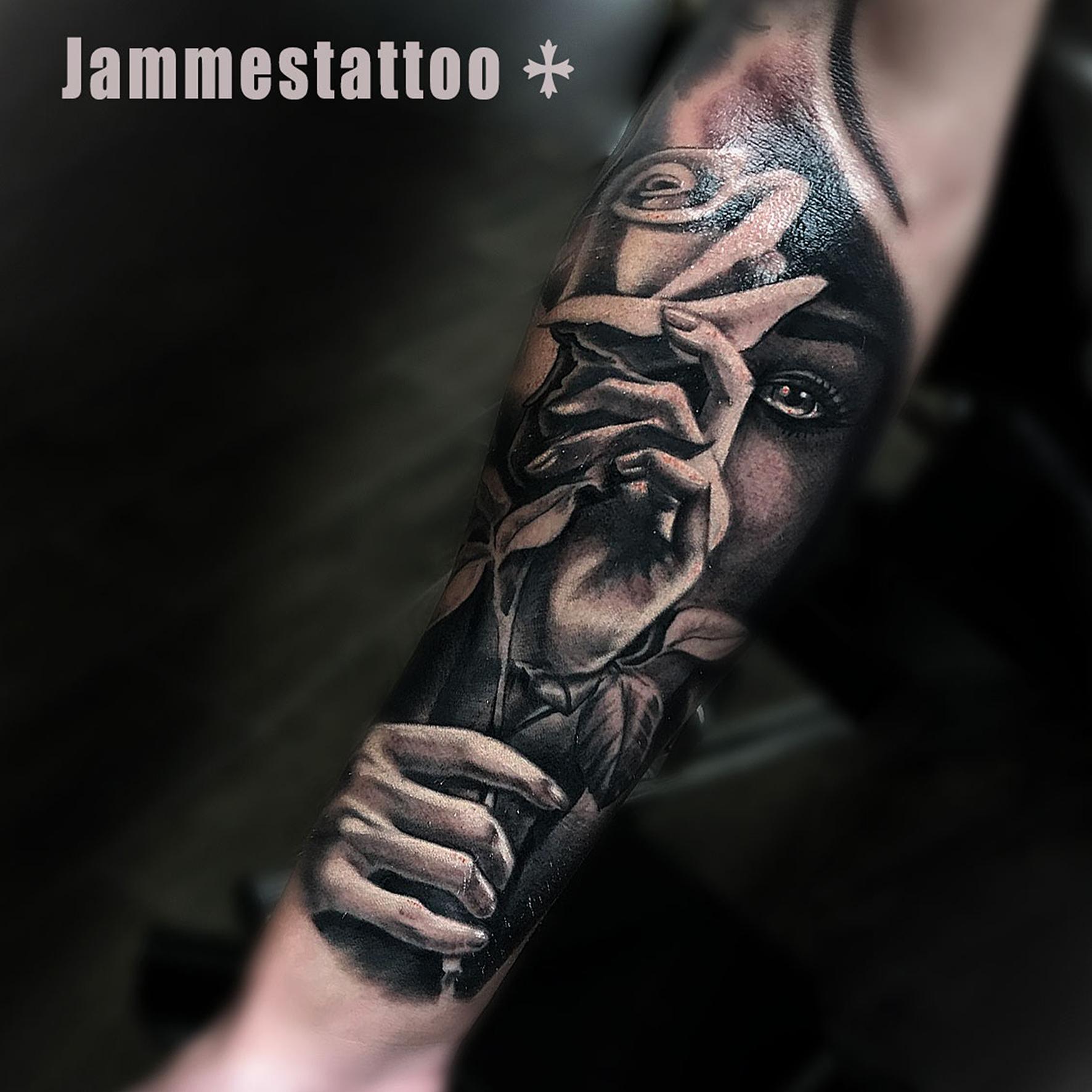 Jammes Jammestattoo Certified Artist