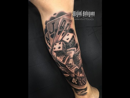 Realism Black Grey Lower Leg