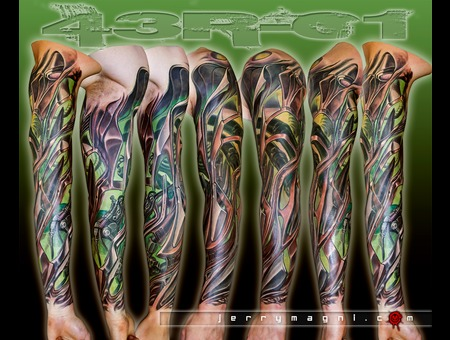 Biomech  Biomechanical  Color Arm