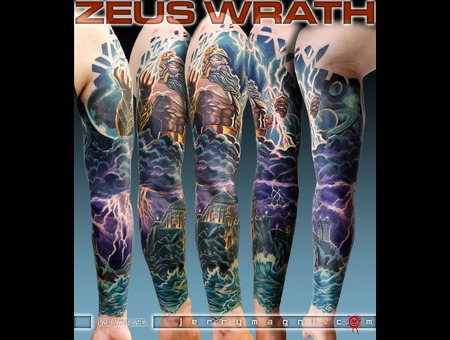 Mythology  Zeus  Olympus  Space  Universe  Color Arm