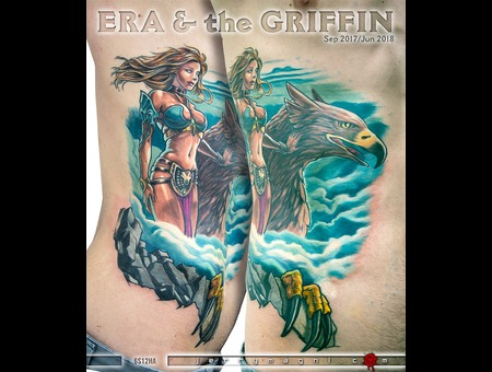 Hera  Griffin  Sexy  Pin Up  Greek Mythology  Color Ribs