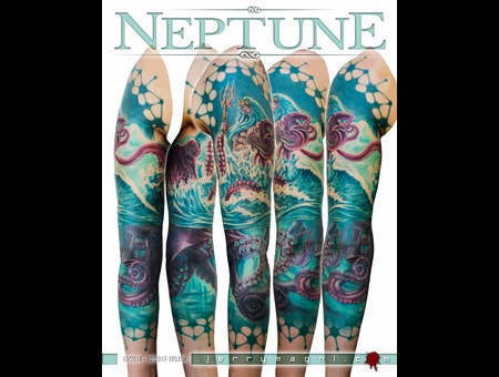Neptune  Octopus  Sea  Sea Monsters  Mythology Color Arm