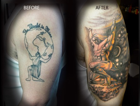 Atlas  World  Space  Cover Up  Sky Color