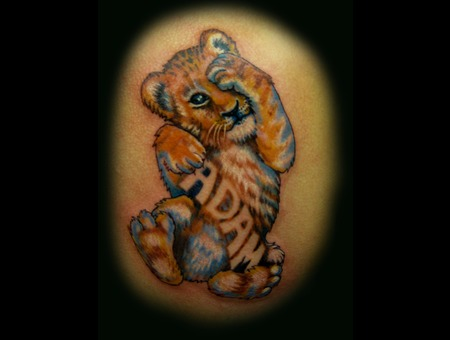 Cub  Tiger  Lion  Name  Cute  Children  Child  Color