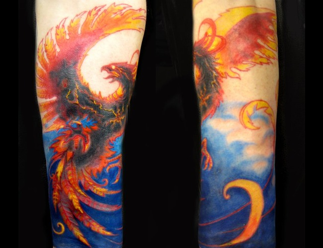 Phoenix  Color  Fire  Cover Up  Color