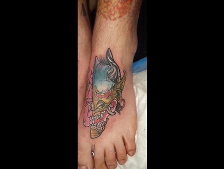 Skye Raath Color Foot