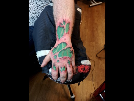 Hulk  Hand  Color   Color Forearm