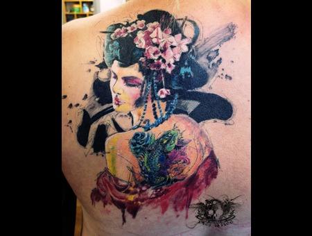 Geisha  Back  Color   Color Back