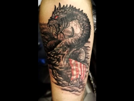 Monster  Horror  Norse  Mythology  Vikings Color Arm