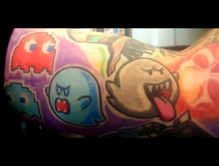 Pacman  Ghosts  Cute  Color  Retrogrames Color Arm