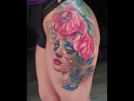 Color Thigh