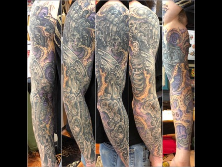 Sleeve Color Arm