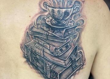 books, tea , story , book, imagination