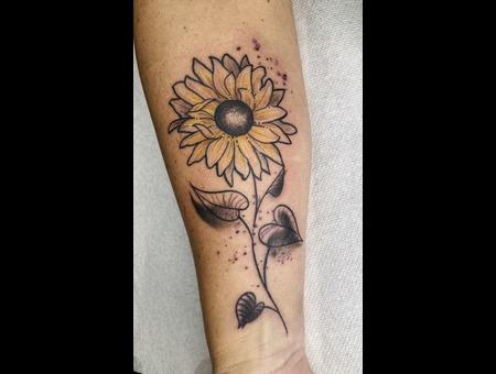 Sunflower Color Forearm