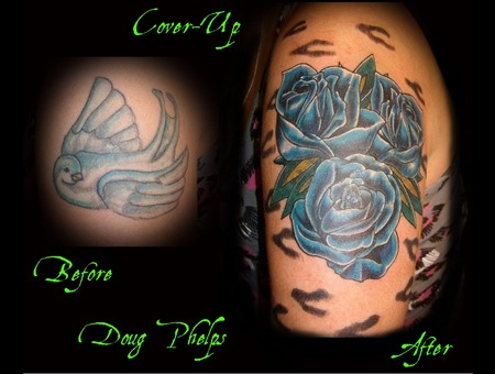 Flowers  Roses  Cover Up Color