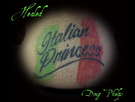 Italian  Princess  Italy  Italian Flag Color