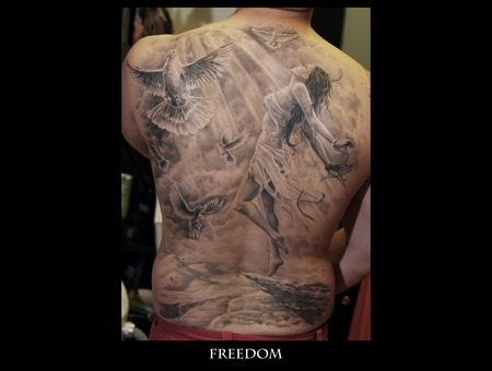 Freedom Black Grey