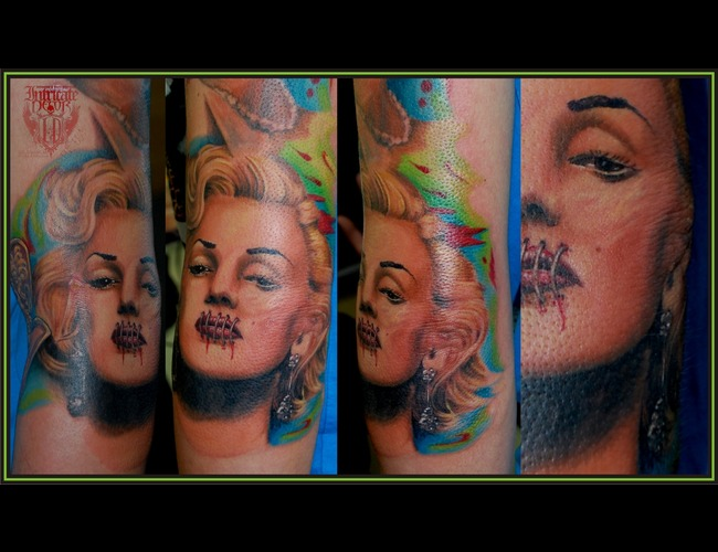 Marilyn  Hear No Evil Color