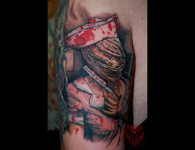Silent Hill  Nurse Color
