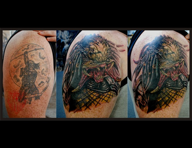 Cover Up  Predator Color Arm
