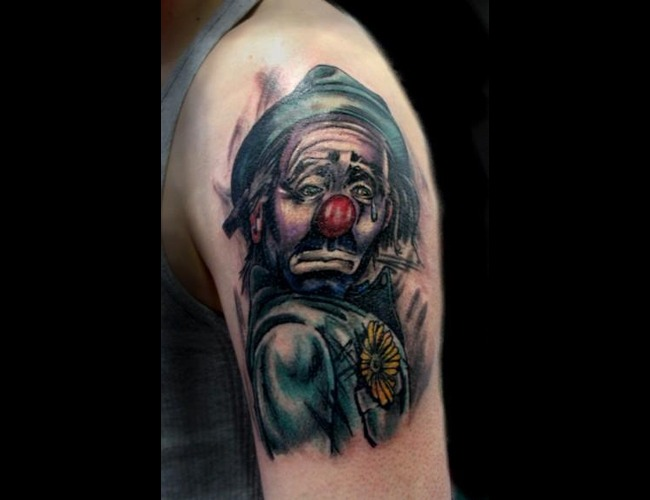 Hobo  Clown Color Arm