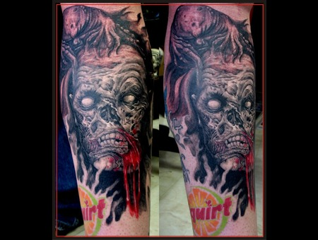 Zombie Color Lower Leg