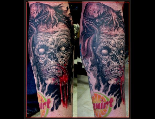 Zombie Color Lower Leg
