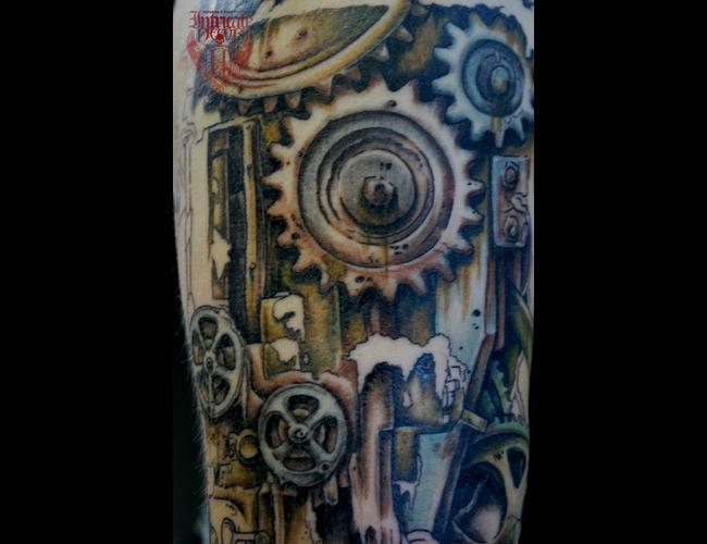 Gears  Bio Mechanical Color Arm