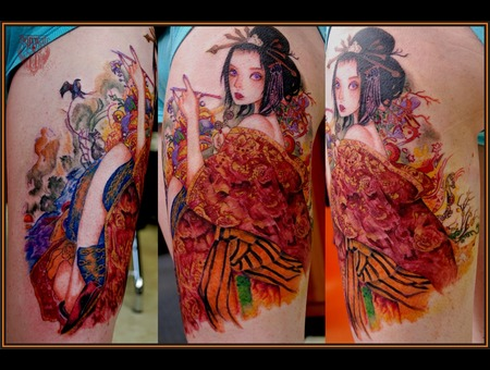 Geisha Color Thigh