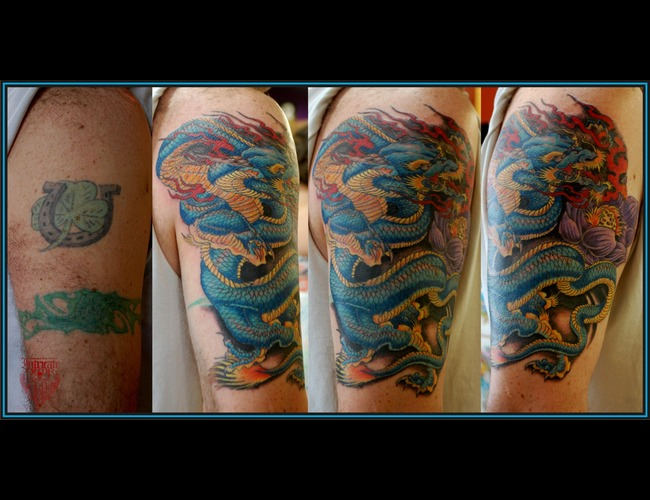 Cover Up  Gragon Color Arm