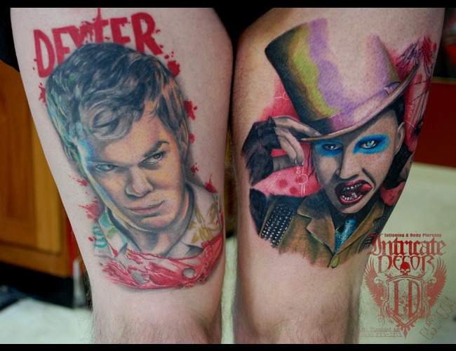 Dexter  Marilyn Manson Color Thigh