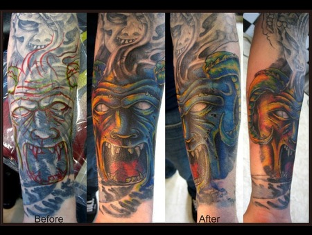 Cover Up  Demon Color Arm