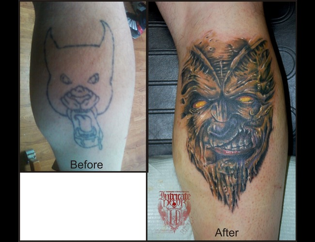 Cover Up  Demon Color Lower Leg