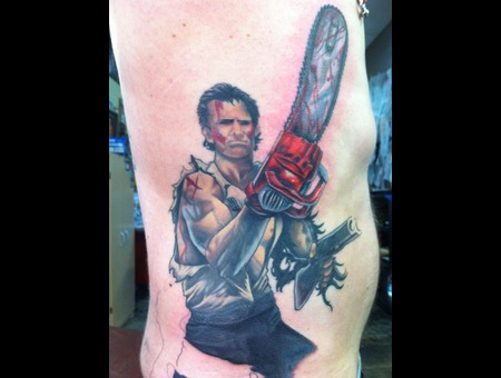Ash  Evil Dead  Ribs  Horror Color