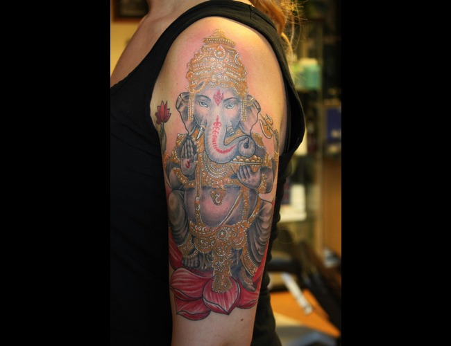 Ganesha  Hindu Color Arm