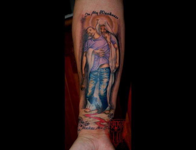 Jesus Color Arm