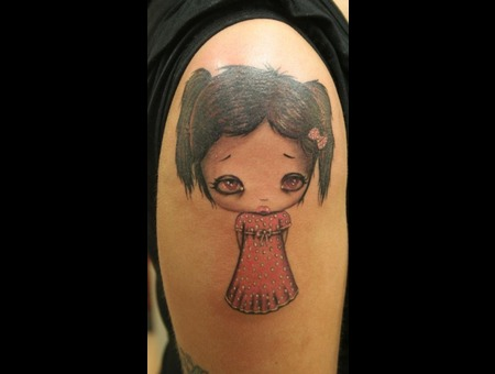 Upperarm  Little Girl Color