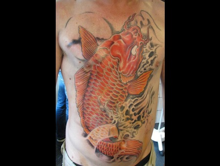 Chest  Koi Color
