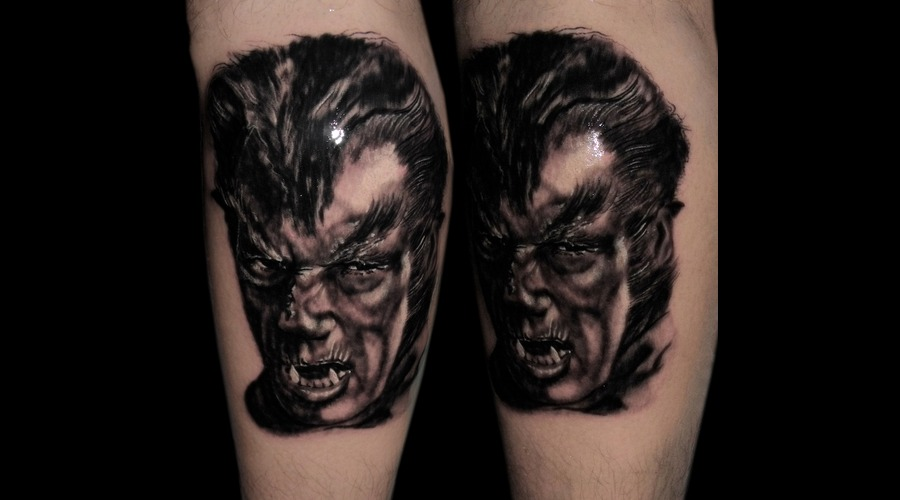 Tattooartist Montreal Gabor Zsil Black Grey