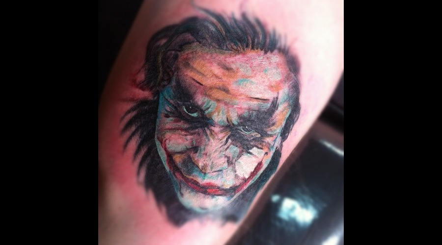 Joker Batman Heathledger Color