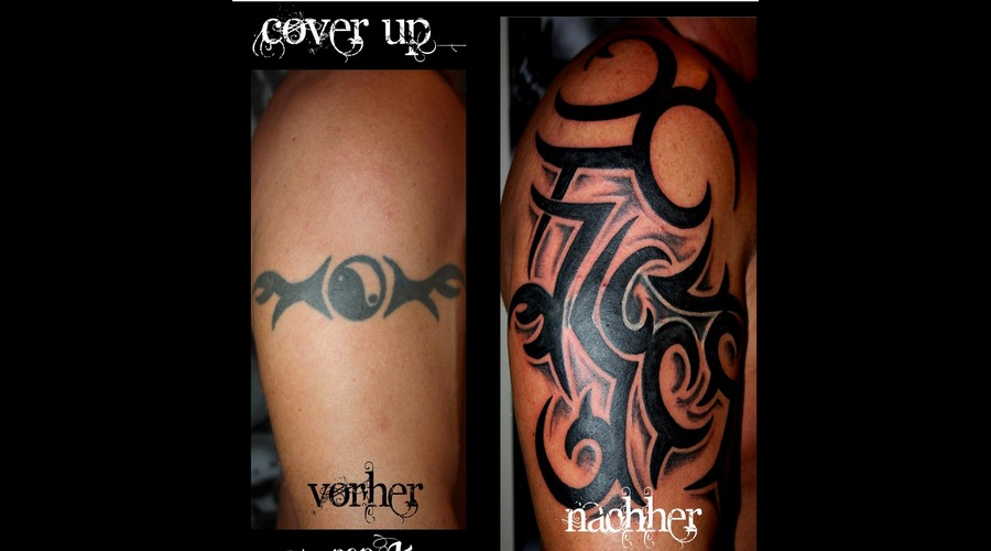 Cover Up Black Grey